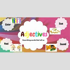 5 Ways To Teach Adjectives To Kids In A Fun Way!  The Mum Educates