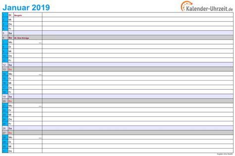 Egal, ob wochenkalender, monatskalender, jahreskalender. Kalender 2019 zum Ausdrucken. Gratis Vorlagen zum Download. | Ausdrucken, Kalender, Kalender ...