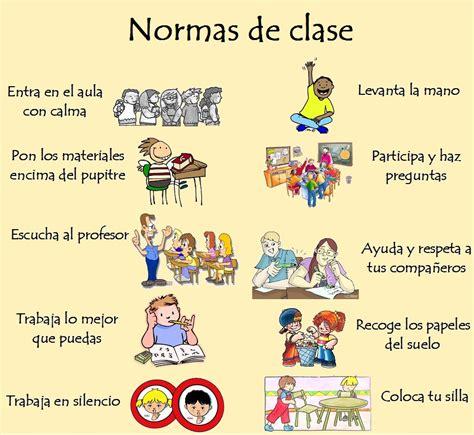 normas de clase normas normas de clase normas salon y normas aula