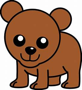 Baby Cartoon Bear Clip Art at Clker.com - vector clip art ...