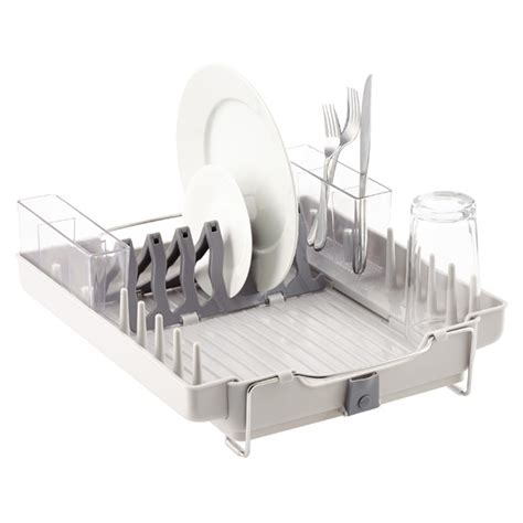oxo grips folding stainless steel dish rack large stainless steel folding dish rack cosmecol