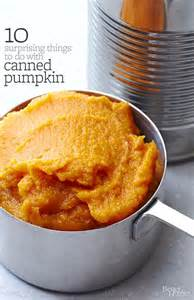 Canned Pumpkin Recipes