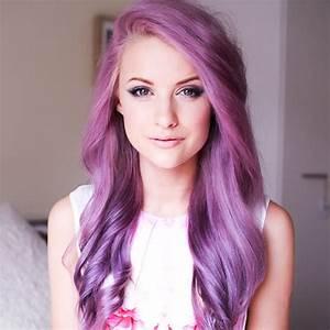 Big Hair Friday - Purple, Pink and Lilac Hair - Hair Romance