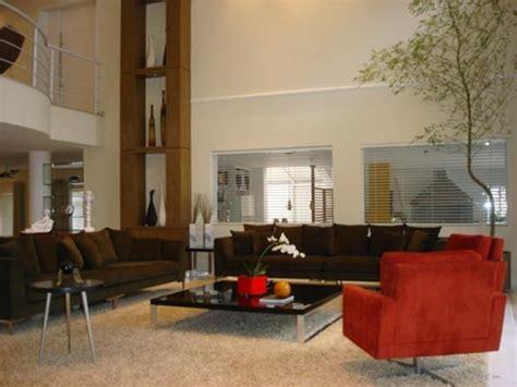 sofa vermelho queimado quero minha sala marrom as poltronas vermelhas