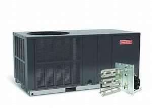 Goodman 2 5 Ton 14 Seer Heat Pump Package Unit Horizontal
