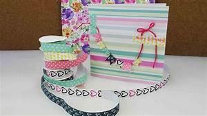 Geburtstagskarte Basteln Einfach : mini washitape haul geburtstagskarte basteln neues textiltape von von tchibo youtube ~ Orissabook.com Haus und Dekorationen