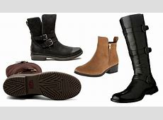 Women's Waterproof Leather Boots for the Rain and Snow