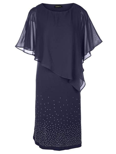 miamoda kleid mit chiffon poncho  kaufen otto