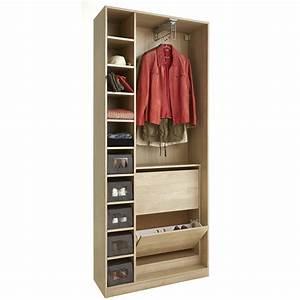Dressing Faible Profondeur : armoire faible profondeur dressing armoire tour de ~ Dallasstarsshop.com Idées de Décoration