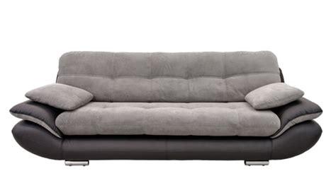 canapé pour enfants canape 3 places baggio 2 pu noir tissu gris