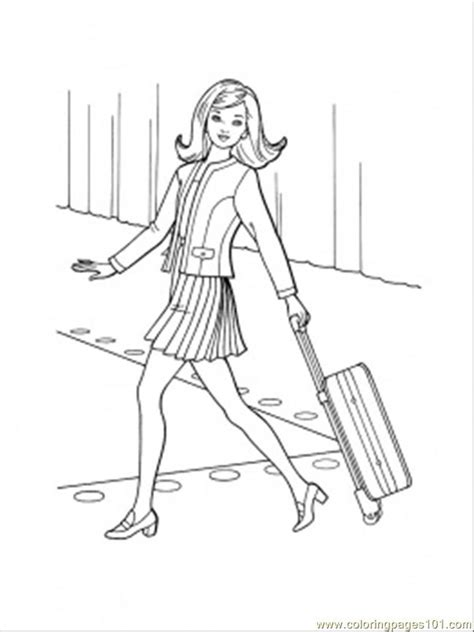 bon voyage coloring page  accessories coloring pages