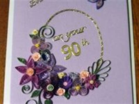 quilling birthday cards  ages images