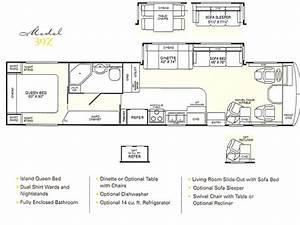 1998 Fleetwood Bounder Floor Plans