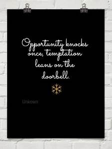 Temptation Tupa... Temptation Opportunity Quotes