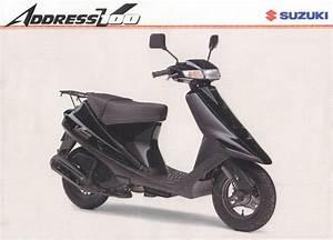 Suzuki Address V100  Best Photos And Information Of