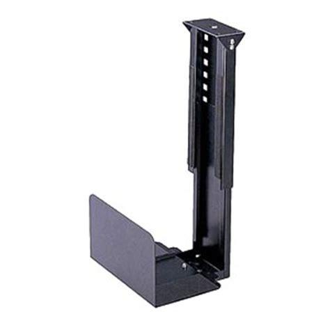 stationary cpu holder under desk mount zt1080125