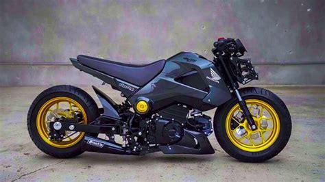 Modified Bikes Honda by Honda Grom Msx Modified Bike 2016