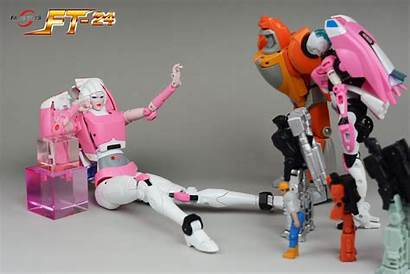 Rouge Toys Fans Ft Arcee Party Masterpiece