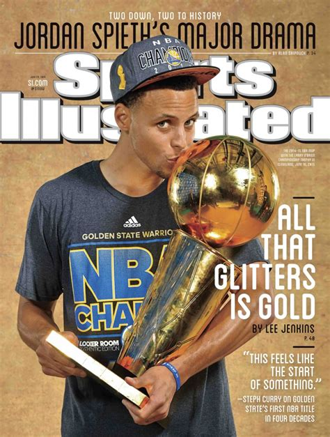 steph curry  sports illustrated cover