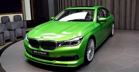 2017 Bmw Alpina B7 Xdrive In Java Green Metallic