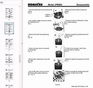 Komatsu Hydraulic Breaker Jpb960 Operation And Maintenance