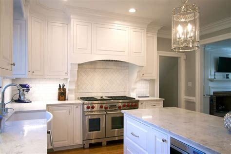 white inset kitchen cabinets kitchen remodel transitional project 15 walker woodworking 1318