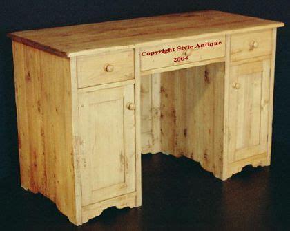 vieux bureau en bois bureau en pin massif vieux bois