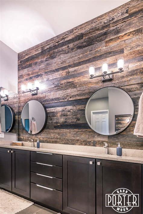 perlman master bathroom barn wood bathroom wood