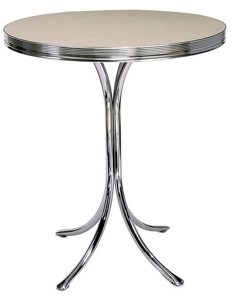 American 50s Style Diner Tables   TO21 Retro Bar Table