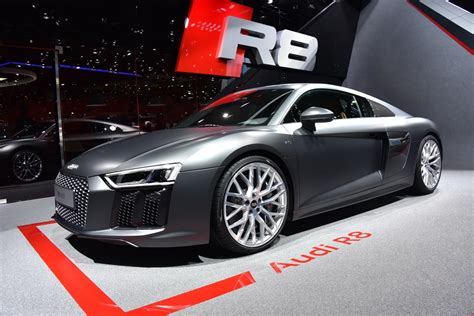No V8s And Manual Transmissions For The New Audi R8