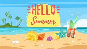 Hello Summer Banner by Skathi GraphicRiver