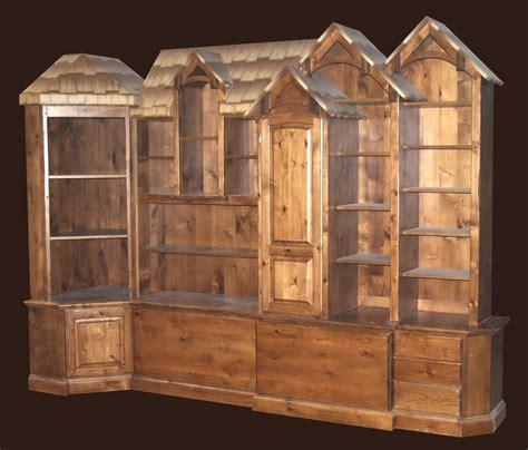 Dresser Bookcase by Rustic Bookcase Dresser Tanglewood Design