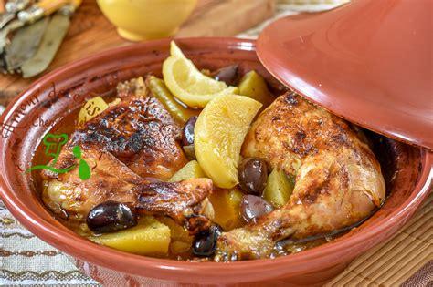 cuisine marocaine ramadan tajine de poulet à la pomme de terre amour de cuisine