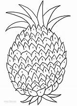 Pineapple Coloring Pages Printable Print Fruits Tart Pineapples Cool2bkids Children Fruit Them Getcoloringpages Pine Apple Watermelon sketch template
