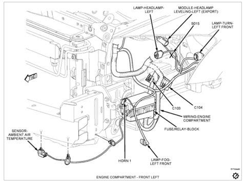 Dodge Caliber Engine Diagram Front