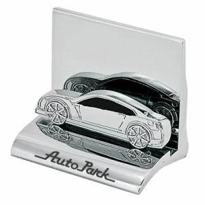 Custom imprinted luxury car shaped business card holder for Car shaped business cards