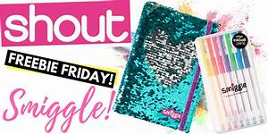 FREEBIE FRIDAY — SMIGGLE NOTEBOOK AND PENS! - Shout Magazine