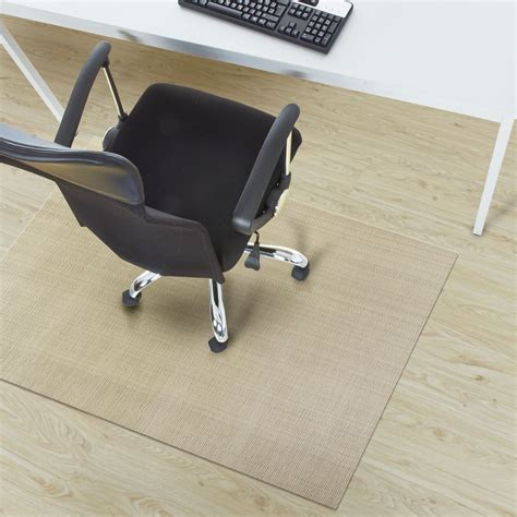 pvc design chair mat palermo