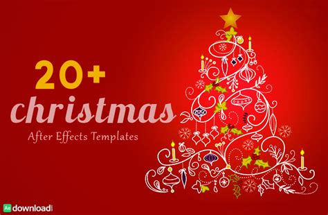 Christmas Logo After Effects Template by 30 Top Christmas After Effects Free Template Free After