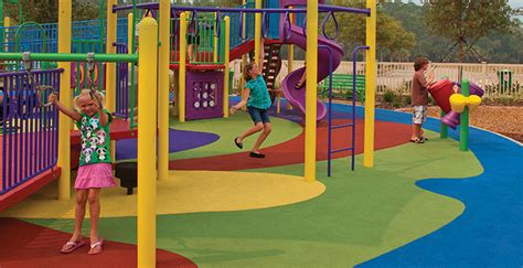 Poured Rubber Flooring For Playgrounds by Pour Installation Safety Surfacing