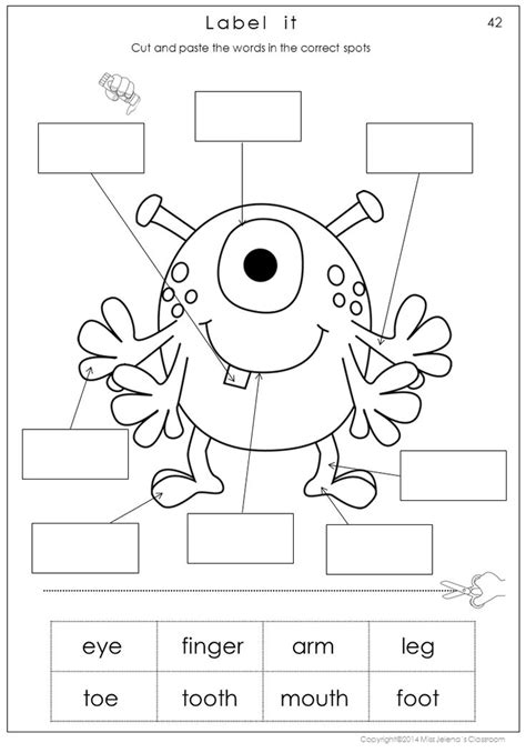 body math  literacy worksheets includes