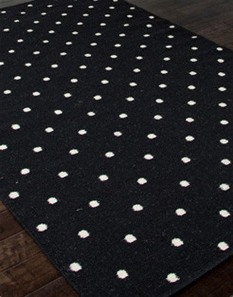 black white polka dot rug modern rugs
