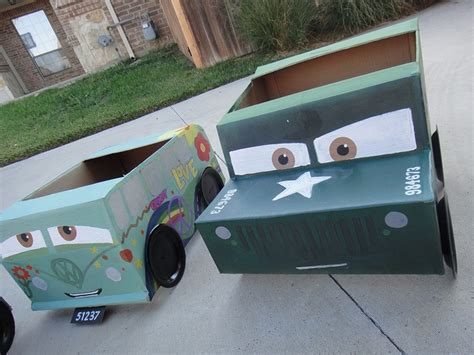 cars sarge and fillmore cars sarge disney cars 2 cardboard fillmore and sarge