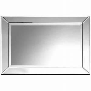 miroir cargo maison du monde malle de rangement l cm With superb maison du monde petit meuble 2 miroir effet industriel