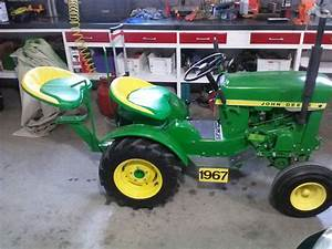 My 1967 John Deere Model 112 Garden Tractor With Hh100 Tecumseh Engine And Added  U0026quot Buddy U0026quot  Seat
