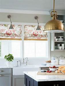 Raffrollo fur kuche eine praktische dekoration fur die for Raffrollo küche