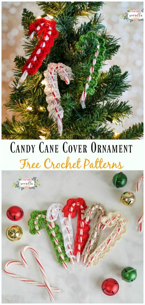 christmas candy cane cozy crochet  patterns