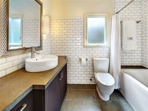 Glass Subway Tile Bathroom Ideas by The Subway Tile Bathrooms Home Ideas Collection Tips
