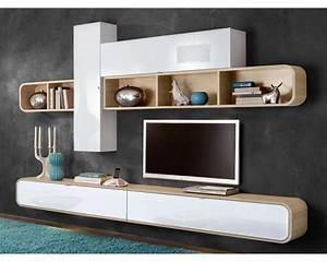 Banc Tv Suspendu : meuble tv mural suspendu tele meuble maison boncolac ~ Teatrodelosmanantiales.com Idées de Décoration