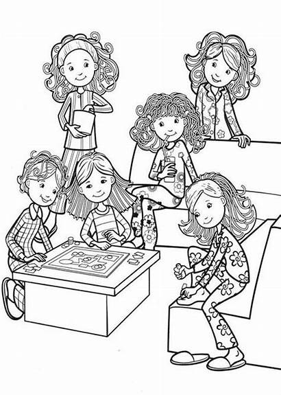 Coloring Pages Living Bedroom Colouring Groovy Looking